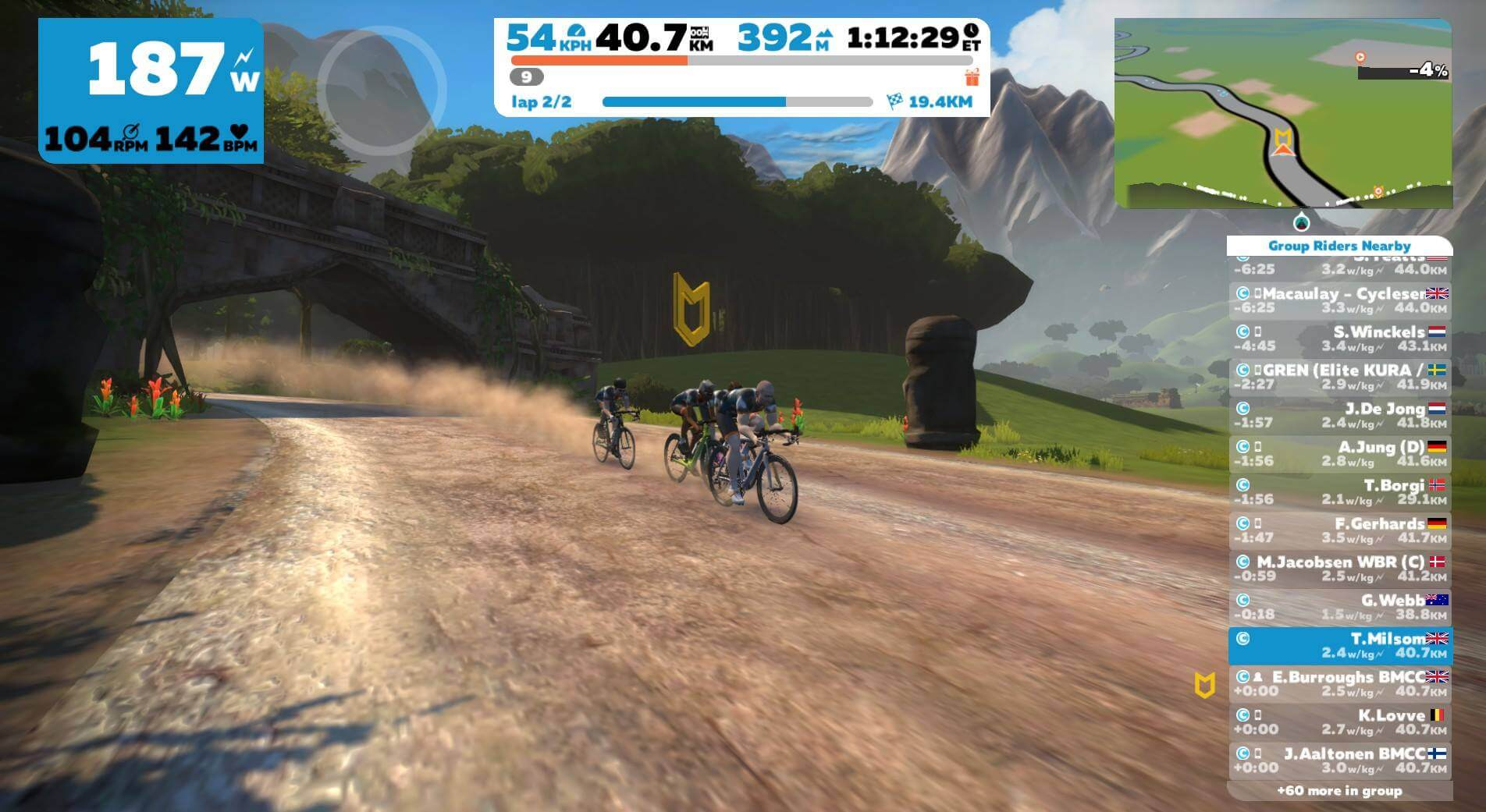 BMCC Club rides on Zwift