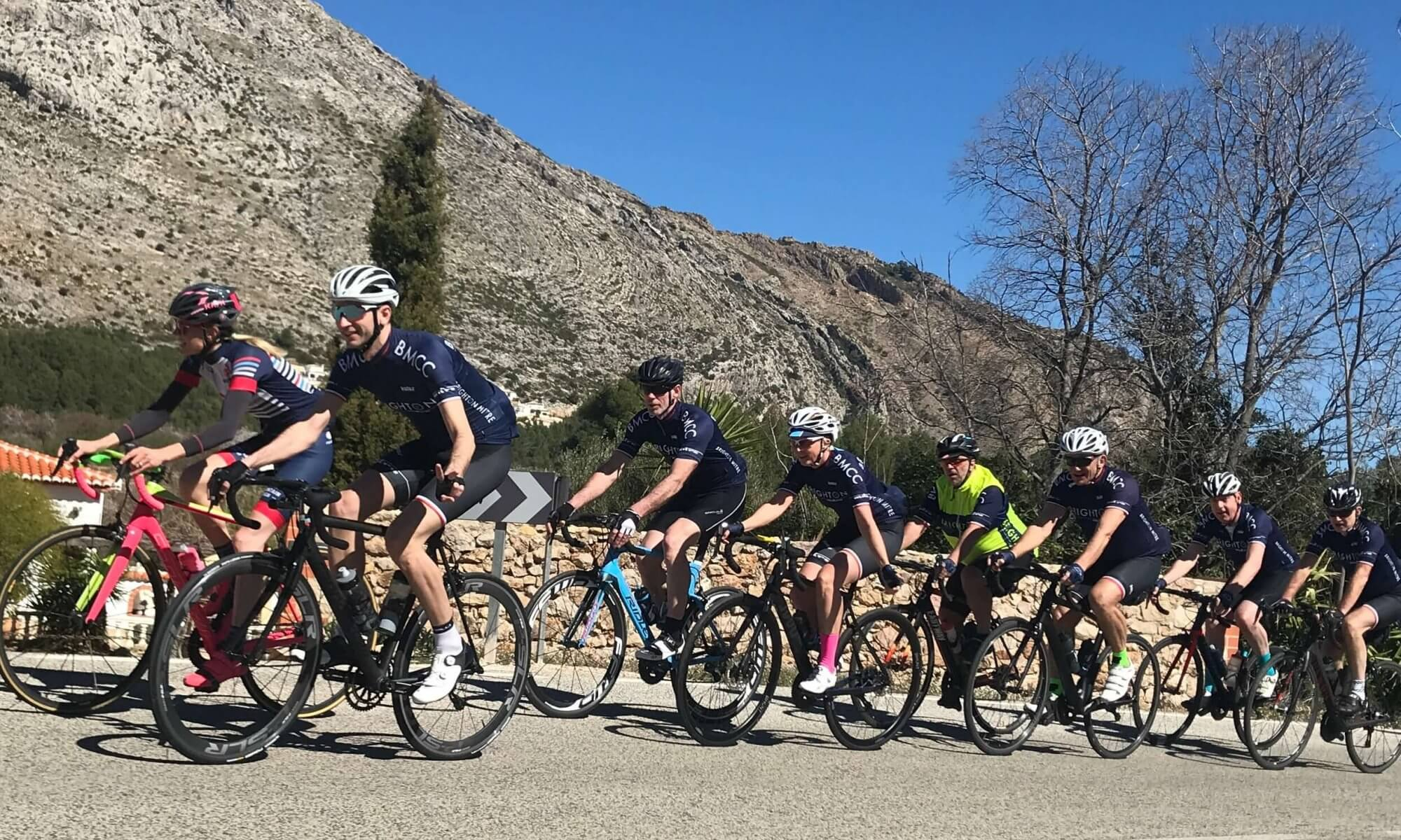 Mitre Calpe training camp March 2018
